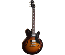 PEERLESS BIRD OF PREY Jazz Kasa Elektro Gitar