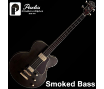 PEERLESS SMOKED BASS Custom Semi-Solid Bas Gitar