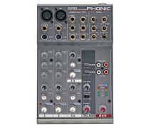 PHONIC AM 85 2 Kanal Ses Mikseri