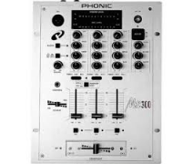 PHONIC MX303 Mixer Dj 3 Kanal Talkover