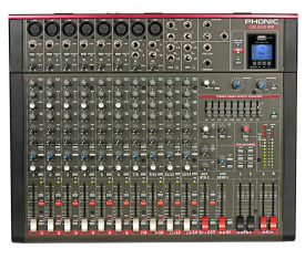 PHONIC CELEUS 800 14 CHANNEL ANALOG MIXER