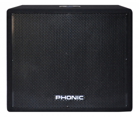 "PHONIC iSK 18 18"" SUBBASS Speaker RMS 500W - 1000W"