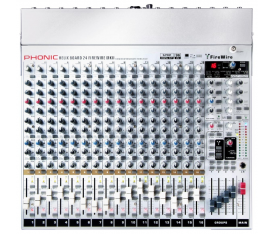 PHONIC HELİXBOARD 24 Mixer 24In 4 Sub, Dfx