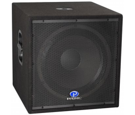 "PHONIC IMPRESSION 18SB 15"" 400/800/1600W Subbass"