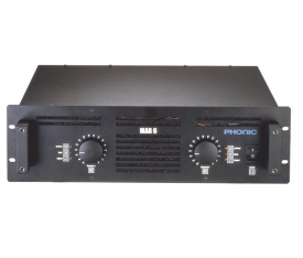 PHONIC MAR 6 Power Amplifier 2x650W