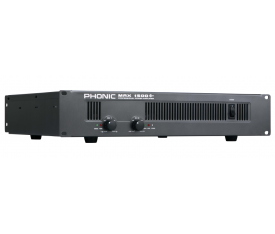 PHONIC MAX 1500 Power Amplifier 2x450W