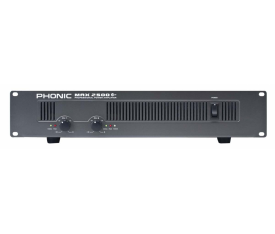 PHONIC MAX 2500 Power Amplifier  2x750W