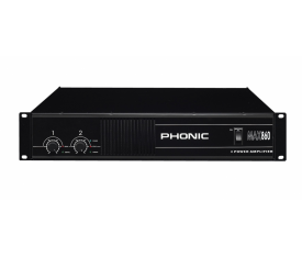 PHONIC MAX 860  2x300W Power Amplifier