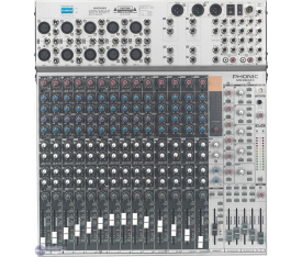 PHONIC MR2643X Mixer 26 Input, 16 Efekt, 6Aux