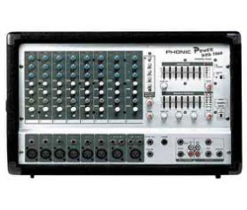 PHONIC POD1060 Power Mixer 8Ch 10in 3X200W