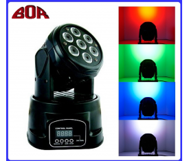 RL 007 7X10W MINIWASH MOVING HEAD