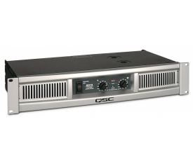 QSC GX3 Power Amplifier 2x500 Watt/4 ohm