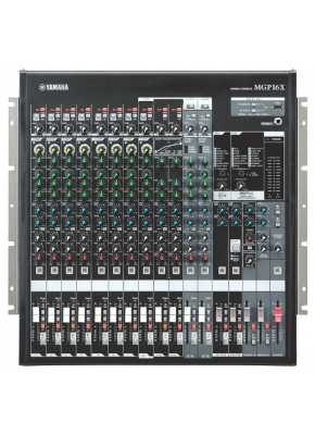 YAMAHA 16 Line Inputs  8 mono and 4 stereo